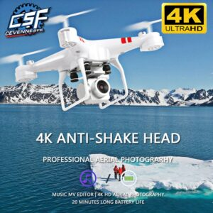 2021 New Drone 4k Camera HD Wifi Transmission Fpv Drone air Pressure Fixed Height four-axis Aircraft Rc Helicopter With Camera