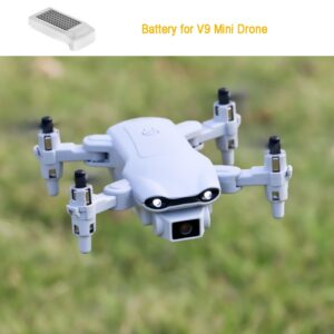 Battry for V9 New Mini Drone 4k profession HD Wide Angle Camera 1080P WiFi fpv Drone Helicopter Toys