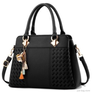 Fashion 2021 Women Hand Bags PU Leather Bag Top-Handle Embroidery Crossbody Bag Shoulder Bag Lady Simple Hand Bags 30#121