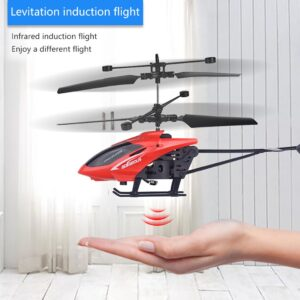 Remote Controlled Helicopter Mini RC Nini Drone Infraed Induction Helicopter Aircraft Flashing Light Toys Christmas jouet Gift